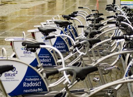 Dziś rozpoczął się montaż 15 nowych stacji roweru miejskiego
